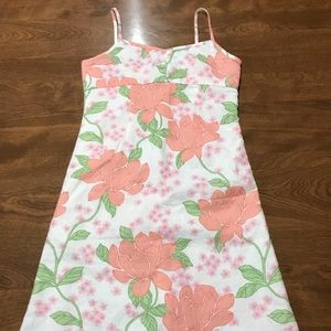 Old Navy Girls Peony Peonies Floral Dress Size 6